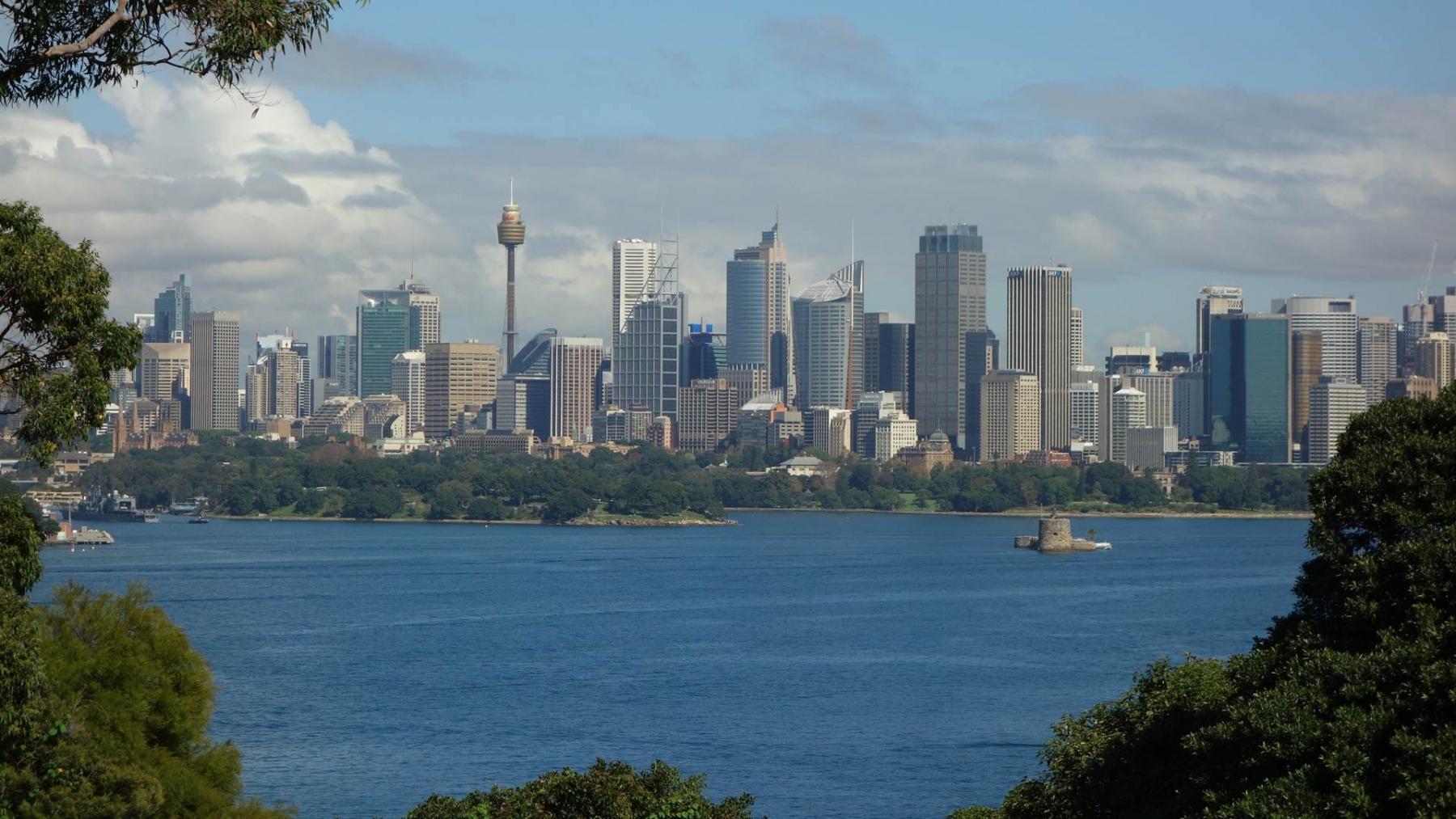 From a distance - ein Besuch in der Weltstadt Sydney
